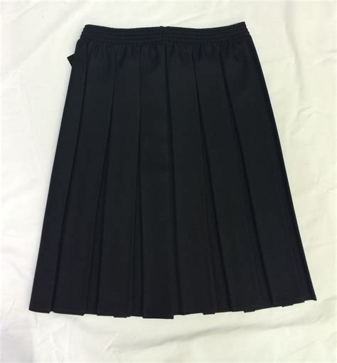 black pleated skirt jk clothing ltd