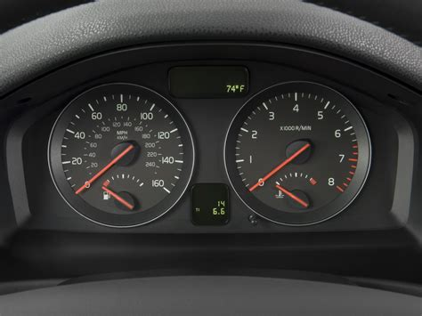 how things work cars 2008 volvo v50 instrument cluster image 2008 volvo v50 4 door wagon 2 4l fwd instrument cluster size 1024 x 768 type gif