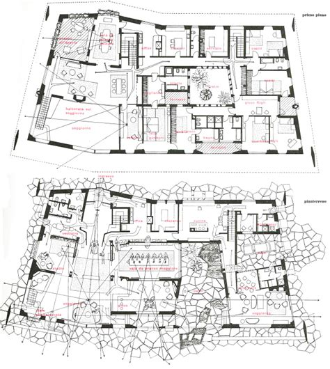 Courtyard Plans villa namazee tehran tehran projects