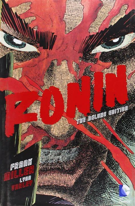 ronin deluxe edition hc amazon es frank miller libros encadenados 2015 frank