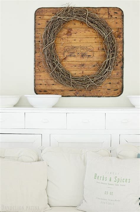 Farmhouse Chic Living Room by Our Cozy Farmhouse Style Living Room Dandelion Patina