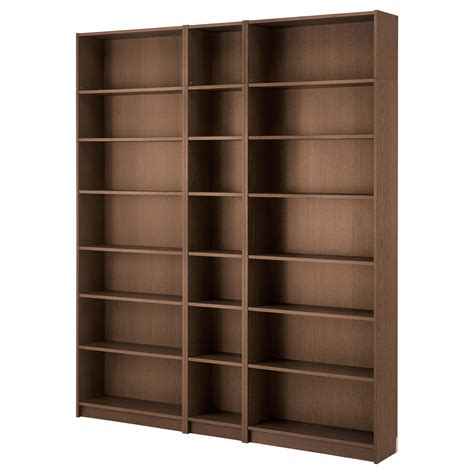 billy bookcase billy bookcase brown ash veneer 200x237x28 cm ikea