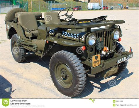 american jeep the american jeep world war ii editorial photography