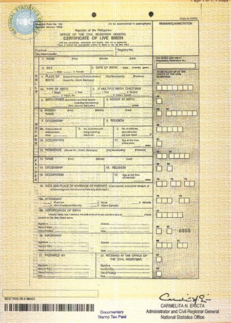 Nso Birth Certificate Records Stuff You Need To About Nso By Teleserv Animetric S World