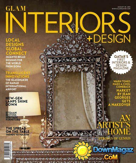 Interior Design Magazine Qatar | qatar s glam interiors design issue 6 august 2015