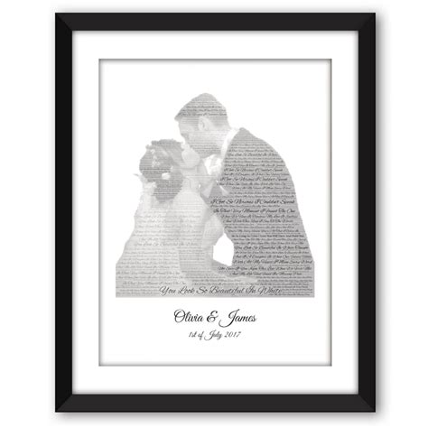 Wedding Song Words by Wedding Song And Wordart Picture Frame Words With