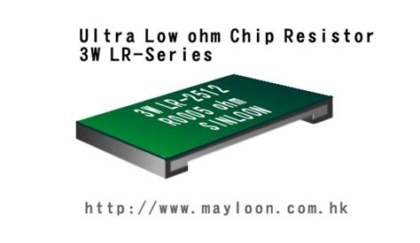 chip resistor voltage rating ultra low ohm chip resistor mlr