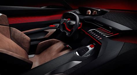 peugeot quartz interior peugeot quartz concept car body design