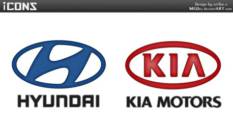 hyundai kia logo hyundai and kia motors logos by mgqsy on deviantart