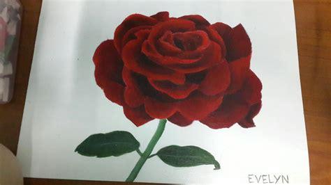 tutorial cara menggambar flora gambar bunga kamboja menggunakan pensil warna menggambar