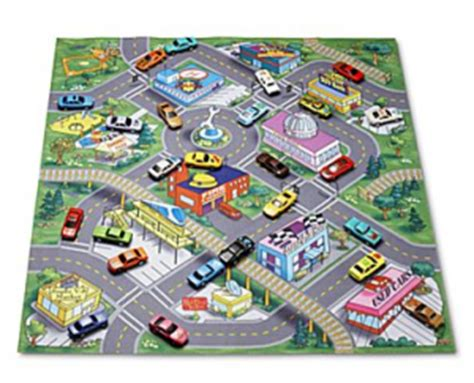 road rugs deal on road map rug and cars