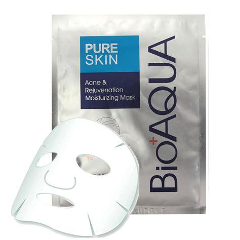 Maskara Bioaqua 1pc bioaqua m 225 scara remo 231 227 o de acne nutri 231 227 o folha