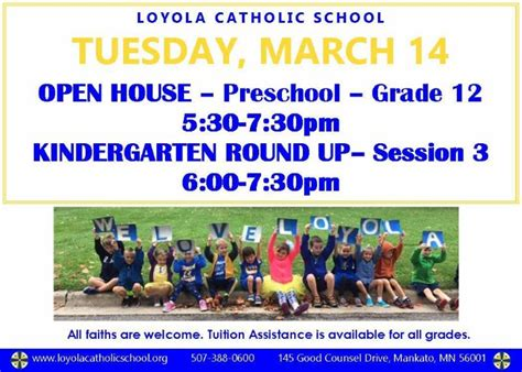 Loyola Mba Open House by Loyola Catholic School News 3 10 2017