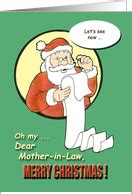 christmas cards  mother  law  greeting card universe