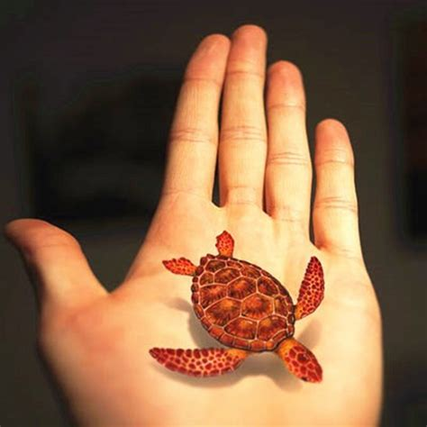 henna tattoo 3d 14 sea turtle tattoos kemp s ridley sea turtle