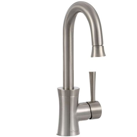 pegasus kitchen faucet pegasus luca single handle bar faucet in brushed nickel