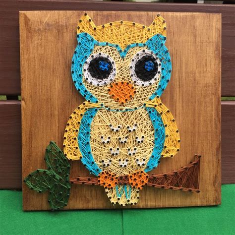 Owl String Pattern - 453 best images about inspiring string projects on