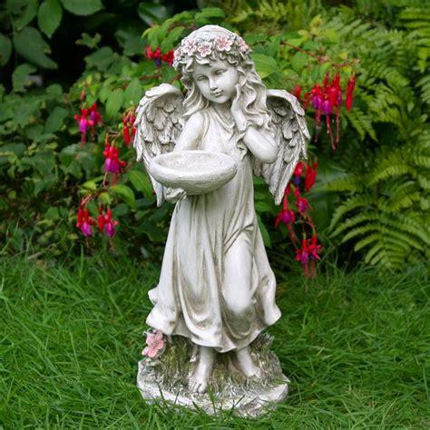 Flower Garden Statues Bird Bath
