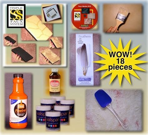 faux painting kits 4 benefits of decorating wall with faux painting kits