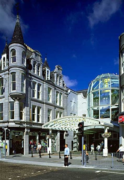 bon accord centre aberdeen shopping centre  architect
