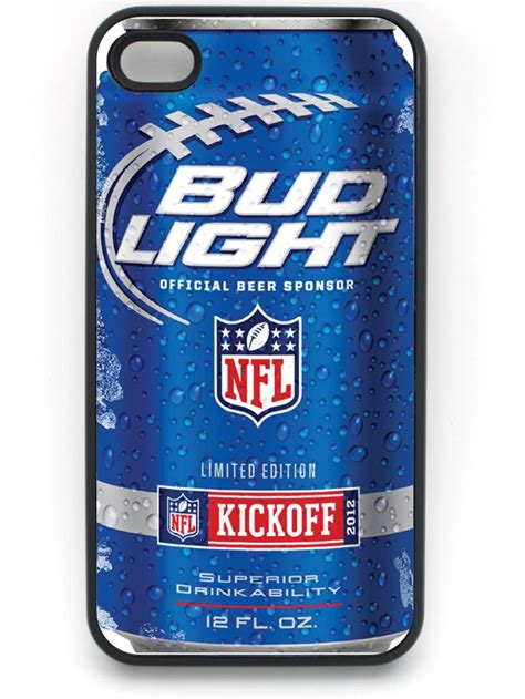 New Arrival Bud Light Hard Plastic Snap On Case Cover For