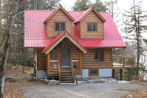 Cottage Packages For Sale by Log Cabin Kit Homes Home Packages Affordable Plans Guest