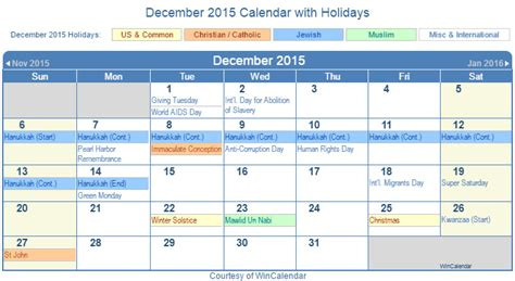 December 2015 Calendar With Holidays Printable Calendar With Holidays Motorcycle Review And