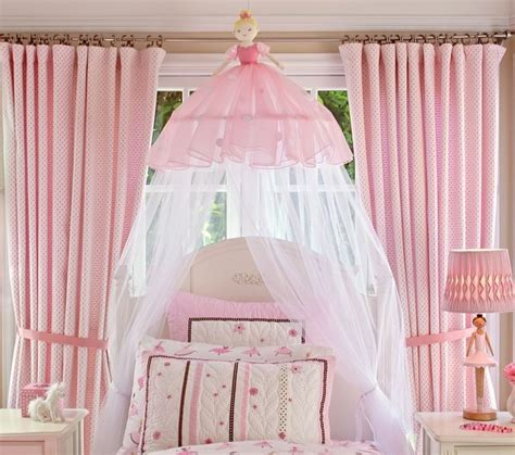 ballerina bedroom ballerina canopy traditional kids bedding by pottery