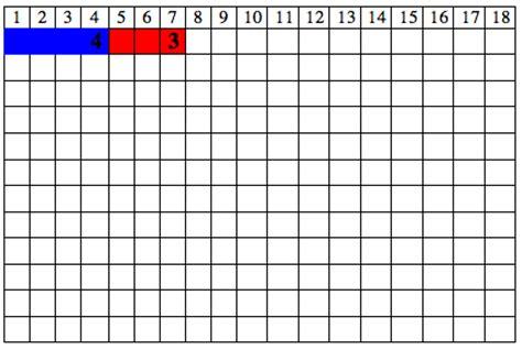 printable montessori addition strip board montessori addition subtraction strip board