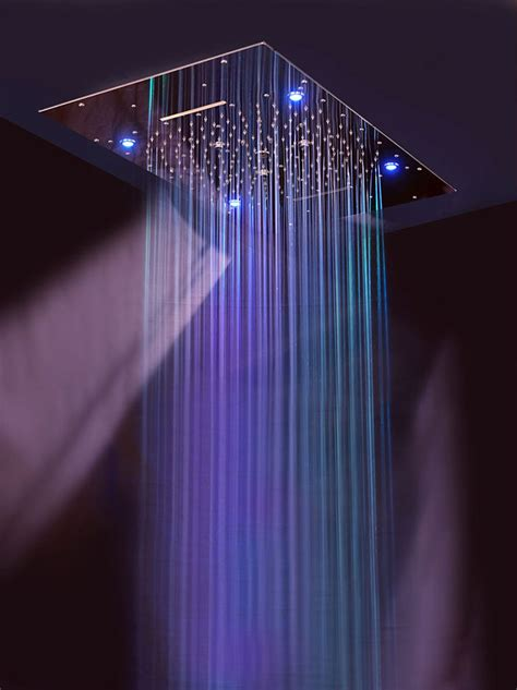 doccia cromoterapia prezzi soffioni doccia con cromoterapia per docce emozionali