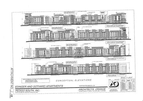 Pedigo Apartments Huntington Oc Development News La Oc Development Buzz