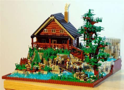 playmobil log cabin lego summer vacation lego summer vacations