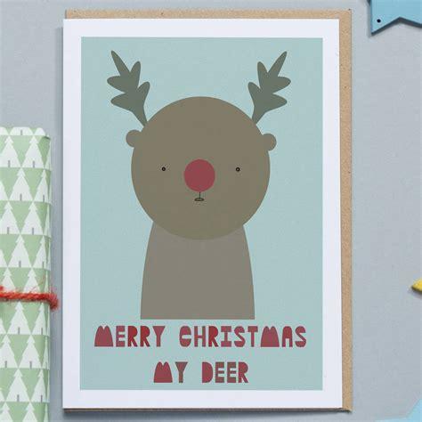 Merry My Deer merry my deer card by in my pocket