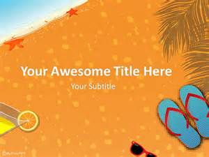 Powerpoint Summer Templates by Free Nature Powerpoint Templates Themes Ppt