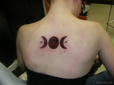 moon tattoo on back moon tattoos designs pictures
