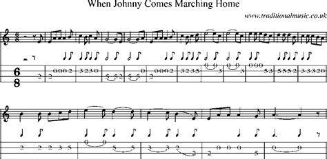 when johnny comes marching home song