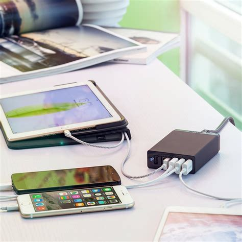 anker 60w 6 family sized desktop usb charger and deal anker 60w 6 family sized desktop usb charger