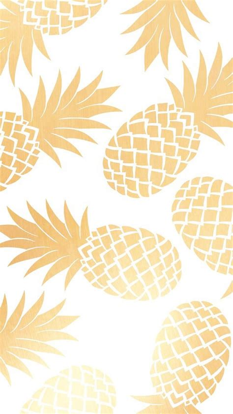 pineapple pattern hd imagem de wallpaper gold and pineapple wallpapers