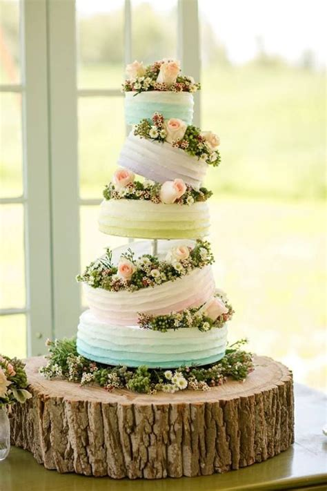 Top 15 Spring Wedding Cake Ideas ? Unique Party Theme Color For Ceremony Day   HoliCoffee