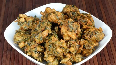 Manjula S Kitchen Aloo Gobi by Spinach Potato Aloo Palak Pakora Manjula S Kitchen