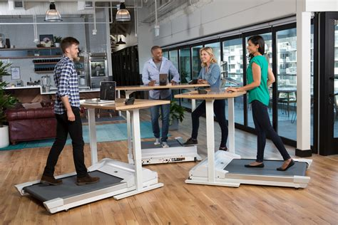 standing treadmill desk work out at work stand up desk features accompanying
