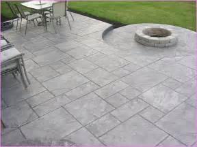 Stamped concrete patios home design ideas
