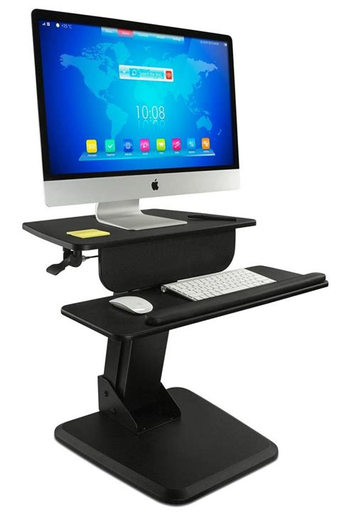 Convert Sitting Desk To Standing Desk The Best Standing Desk Converters For Tiny Desks And Compact Cubicles Standingdeskgeek