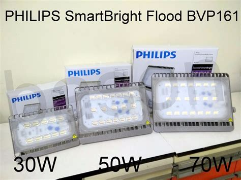 Lu Led Sorot Philips jual philips bvp161 flood light led 70w 3000k lu