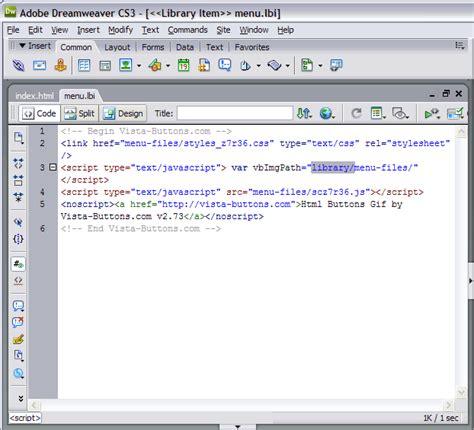 design menu bar in dreamweaver free dreamweaver menu bar template template
