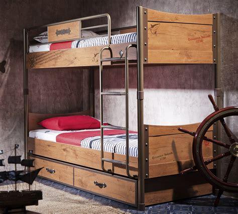 Pirate Bunk Bed Pirate Bunk Bed 90x200 Cm 199 Ilek
