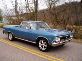 1966 chevrolet el camino 396 with a 4 speed and 373 12