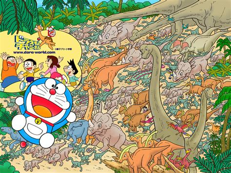 Map Doraemon 分享 多啦a夢電腦背景 gt w