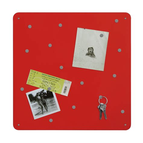 magnetic bulletin board red magnetic bulletin board in memo and bulletin boards