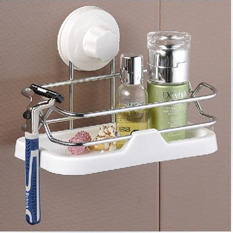 bathroom suction shelves suction shower shelves shower caddy with suction cup suction shower rack stainless steel in
